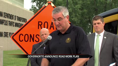 Governor Holcomb set to unveil state road projects in Goshen Monday