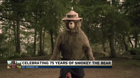 Government agencies celebrating 75 years of Smokey the Bear