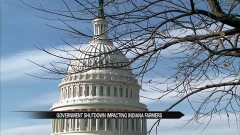 Government shutdown impacting Indiana farmers
