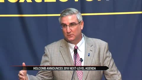 Governor Holcomb unveils next level agenda