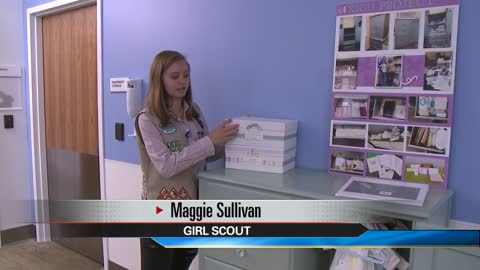 Granger Girl Scout receives Gold Award for NICU project