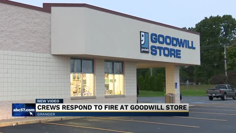 Crews put out fire at Granger Goodwill