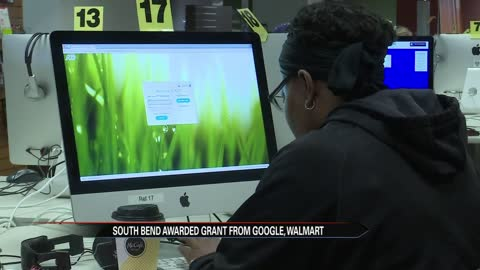 South Bend awarded grant from Google, Walmart