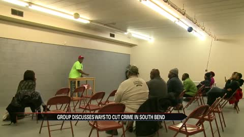 South Bend group discusses crime prevention measures