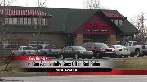 Gun goes off inside Mishawaka Red Robin