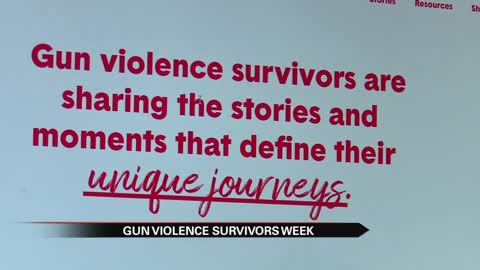 Local survivors speak out during Gun Violence Survivors Week