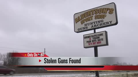 Minor found with gun stolen from gun shop