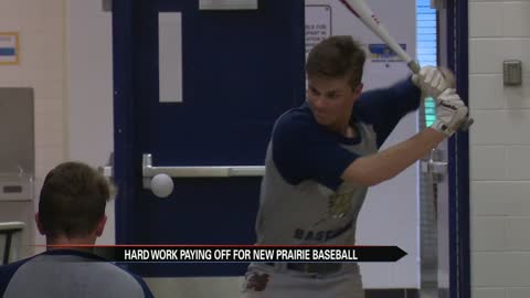 Hard work paying off for New Prairie baseball
