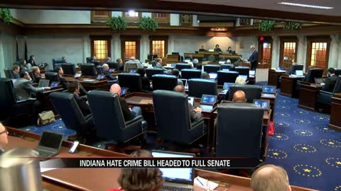Indiana hate crime bill moving forward to full Senate