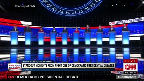 Health care, immigration lead discussion during second Democratic debate