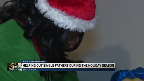 South Bend woman working to help single fathers during holiday...