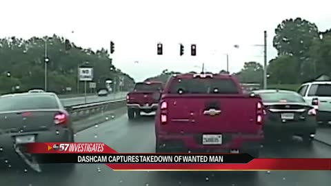 High speed chase helps catch a man wanted on federal counterfeit check crimes