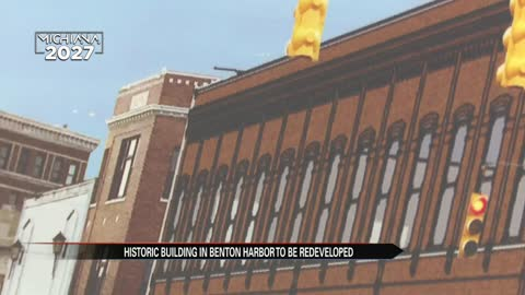 Historic building in Benton Harbor expected to be redeveloped