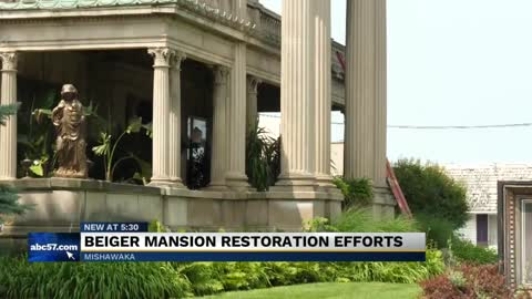 Historic Mishawaka mansion entering final stages of renovations
