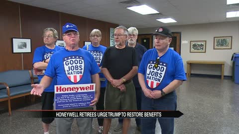 Honeywell retirees travel the country seeking help from Pres. Trump