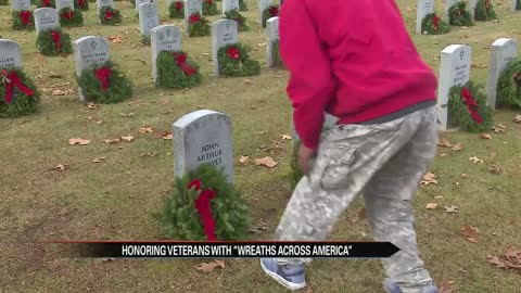 Honoring veterans with 'Wreaths Across America'