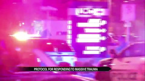 Local hospital explains massive trauma protocol after Las Vegas shootings