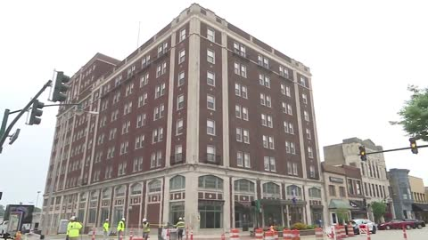 Hotel Elkhart renovation project to be completed in 2020
