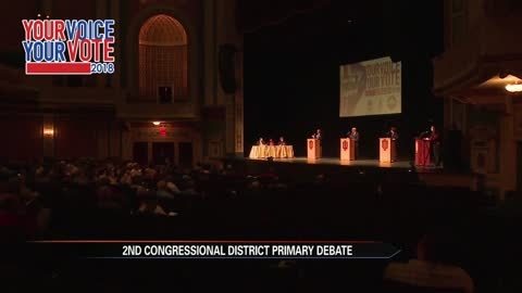 Large turnout for 2nd Congressional District debate