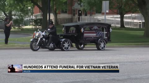Hundreds come out to pay their respects to a Michiana Vietnam...