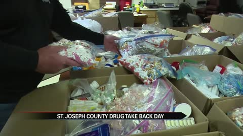 Thousands of pills collected during local Drug Take Back Day