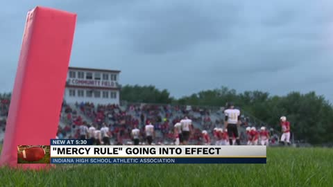 "IHSAA institutes ""mercy rule"" for football"