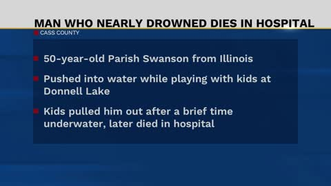 Illinois man passes away following water incident near Donnell...