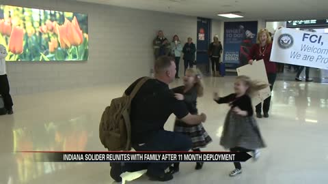 Indiana Naval Fire Controlman reunited with family in time for holidays