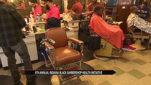 Indiana Black Barbershop Initiative holds 9th annual health screenings