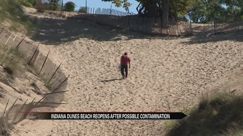 Indiana Dunes State Park beach back open after possible contamination