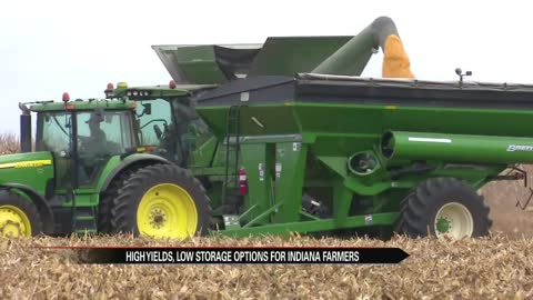 Indiana farmers expect high yields, potential for storage problems