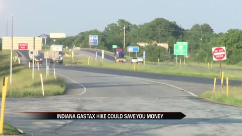 Indiana gas tax hike could save drivers money
