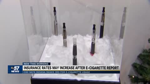Indiana insurance rates could increase after e-cigarette report