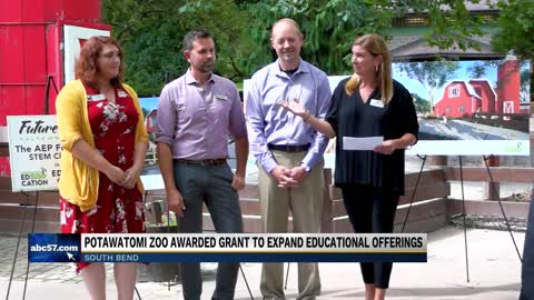 Indiana Michigan Power gives grant to Potawatomi Zoo for STEM...