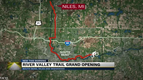 Indiana-Michigan River Valley Trail grand opening happening Saturday
