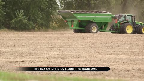 Indiana soybean farmers fearful of trade war