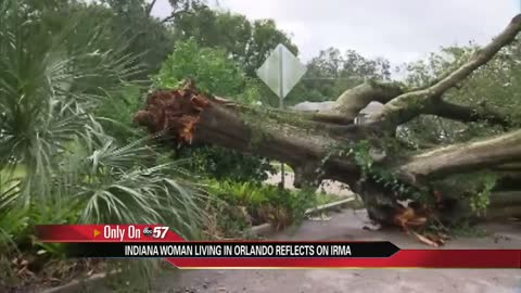 Indiana woman living in Orlando reflects on Hurricane Irma