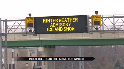 Safe streets: INDOT and Toll Road prepare for another winter