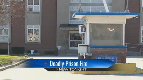 Inmate dies after allegedly setting cell on fire, prison on lockdown