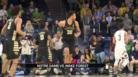 Irish ACC struggles continue with loss to Wake Forest