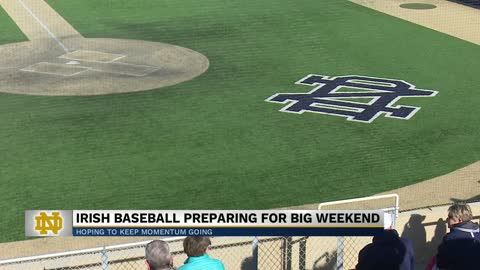 Irish baseball hoping momentum carries into final stretch