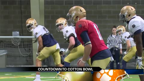 Irish players embracing Playoff pressures