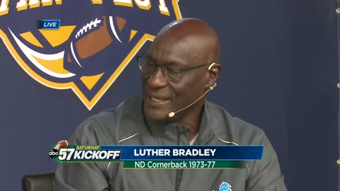 Irish legend: Luther Bradley