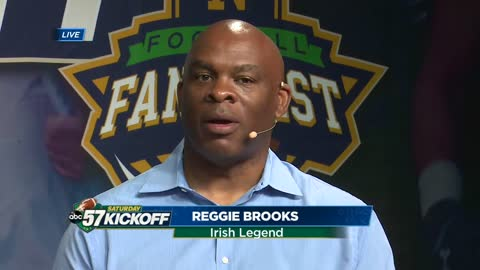 Irish Legend: Reggie Brooks