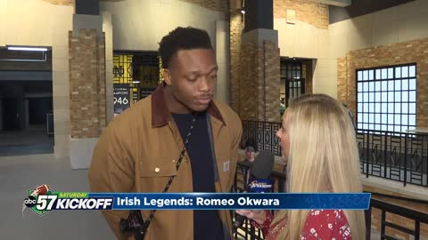 Irish Legend: Romeo Okwara