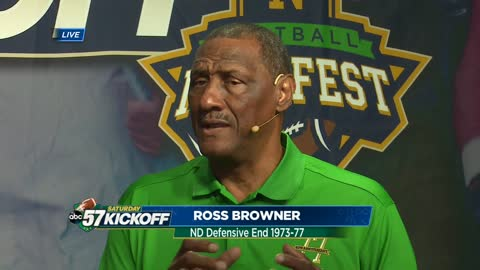 Irish Legend: Ross Browner
