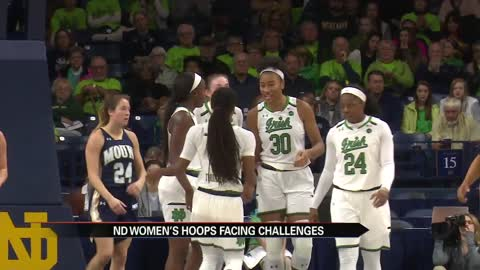 Irish lose another to injury ahead of UConn matchup