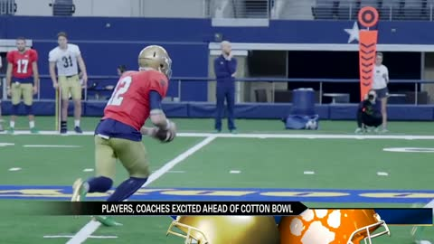 Irish ready for big stage at Cotton Bowl Classic
