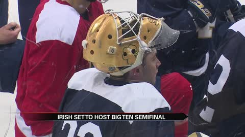Irish set to host Big Ten hockey semifinal