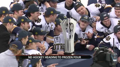 Irish to lean on experience in second-straight Frozen Four